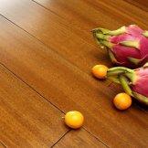 安信地板 纽敦豆(非洲柚木) 全实木地板