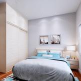 索菲亚衣柜定制 整体衣柜床头柜床 成套家具组合定做
