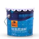 蓝天豚室内装修硅藻泥 内墙墙面液态环保涂料 除甲醛