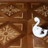 莫干山地板 多层实木地板 耐磨环保拼花地板