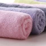 天源 竹纤维毛巾 家居洗脸毛巾 超柔软吸水大毛巾