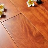 大自然实木地板 荷木 环保健康性能稳定 纹理细腻