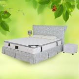 莱迪雅双人席梦思 天然乳胶床垫 九区独立袋弹簧床垫 护脊保健