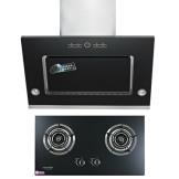 韩派 抽油烟机燃气灶套餐 侧吸式油烟机厨房电器套餐