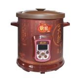 三源紫砂汤锅4.0L 电炖煮粥煲 电炖电煮锅
