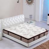 美神乳胶床垫 棕垫弹簧双人席梦思床垫 1.51.8米加厚