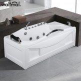 沃特玛 冲浪裙边单人按摩浴缸 1.7米
