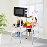 澳美佳 多功能组合置物架 微波炉架 厨房架 收纳架