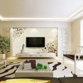 蒙娜丽莎电视背景墙瓷砖 简约新中式客厅文化石 背景墙仿古砖雕刻壁画