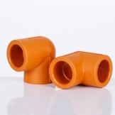 伟星管业 PPR水管配件 D20/4分 D25/6分 等径 90度弯头