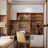 索菲亚家具定制 全屋卧室书柜 衣柜 床组合家具套餐