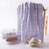 金号毛巾毯 纯棉毛巾被童被 双层无捻 柔软舒适
