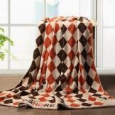 金号纯棉毛巾被 夏凉空调毯 大气英伦格毛巾毯
