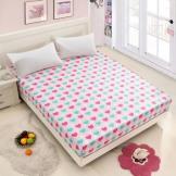 真爱美家全棉加厚床罩 加高席梦思保护套