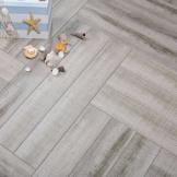 安心拼花地板 木地板 强化复合地板 人字拼 恩沐仙居