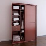 索菲亚衣柜 C3框中横框平板门 趟门推拉门移门衣柜