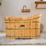 雅仕嘉木桶 泡澡洗澡桶 蒸汽桑拿熏蒸桶