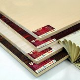 百强板材 E0级环保17mm实木免漆板 生态板 细木工板芯
