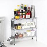 澳美佳三层厨房置物架 调味料架 卫浴架 收纳架