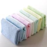 天源家纺竹纤维方巾 可爱儿童小方巾 宝宝口水巾pf-26