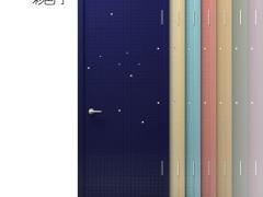 2020彩色门 室内门木门 环保烤漆 卧室门 XZ001
