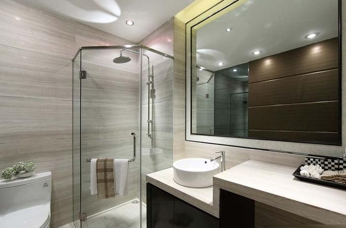 现代简约-103.83平米三居室-装修样板间