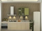 司米整体橱柜 橱柜定做 现代简约石英石厨柜霞慕尼 定制厨房橱