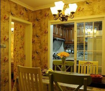 田园风格-131.98平米三居室装修样板间