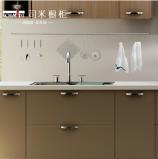 司米整体橱柜定做 整体厨房装修厨柜石英石橱柜 安纳西整体橱柜图片