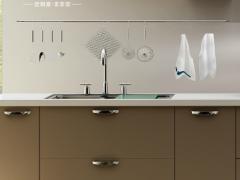 司米整体橱柜定做 整体厨房装修厨柜石英石橱柜 安纳西整体橱柜
