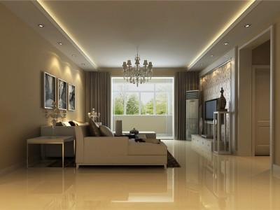 现代简约-137平米三居室装修样板间