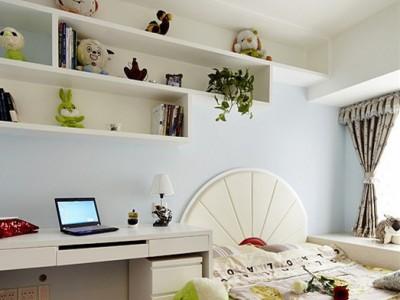 现代简约-90平米二居室装修样板间