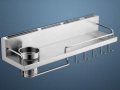 摩恩(MOEN) 304不锈钢厨房挂件置物架刀架
