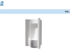 乐家赛特小便器(后进水) 小便器价格 公共小便器 挂式小便器