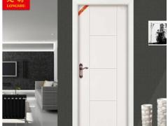 派的门PADOOR室内木门冰纹白实木复合门卧室门