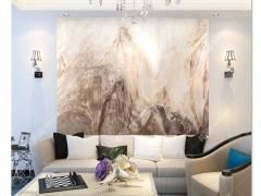 电视背景墙 瓷砖 电视墙 锦绣江山微晶石 0.1平方米