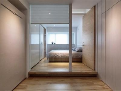 日韩风格-43平米一居室装修样板间