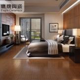 鹰牌陶瓷 仿木地砖 卧室地砖木纹砖瓷砖 仿实木防滑仿古砖地砖