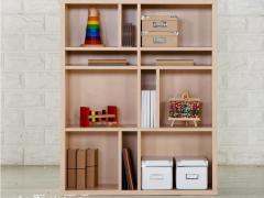 香港皇朝家私 爱德华特价简易创意书柜置物橱架 自由组合木质家