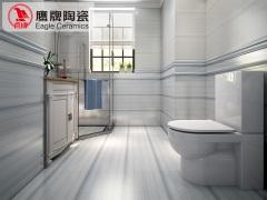 鹰牌陶瓷 厨卫瓷砖墙砖地砖 水晶瀑布 防滑地板砖瓷砖卫生间瓷