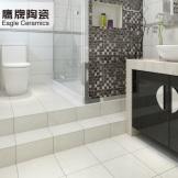 鹰牌陶瓷 墙砖地板砖瓷砖 羊脂白玉 厨房釉面砖厨卫卫生间瓷砖