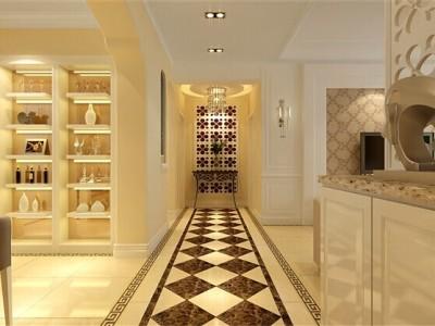 田园风格-131平米四居室装修样板间