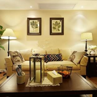 美式现代四居室装修效果图