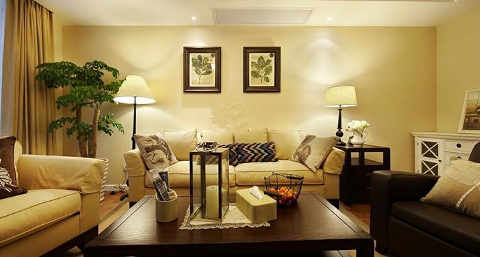 美式现代-164.93平米四居室-装修样板间