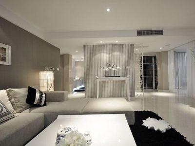 现代简约-191.99平米四居室装修样板间