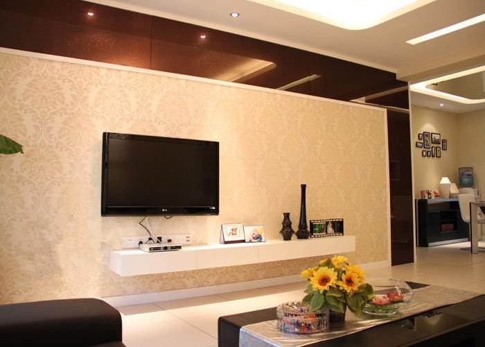 现代简约-127.91平米三居室-装修样板间