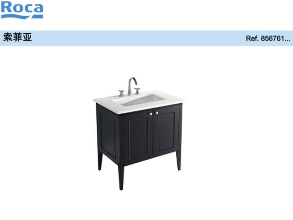 Roca乐家索菲亚家具770mm(白色) 乐家浴室柜