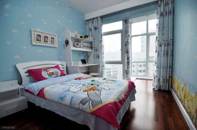 现代简约-85平米三居室-装修样板间