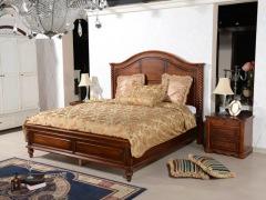 美立方外贸家居美式家具1.8米床