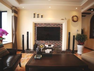 田园风格-113.76平米三居室装修样板间